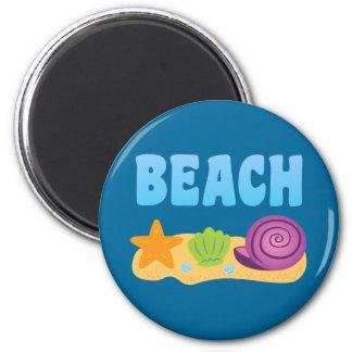 Beach Seashells Magnet