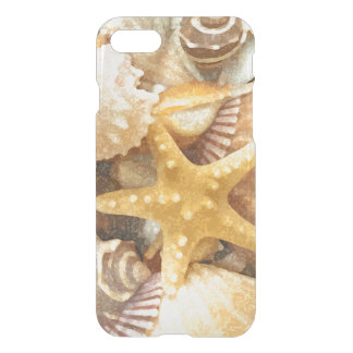 Beach Seashells Pattern iPhone 8/7 Case