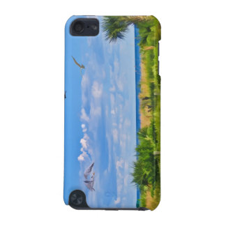 Beach, Seaside, and Birds iPod Touch 5G Case