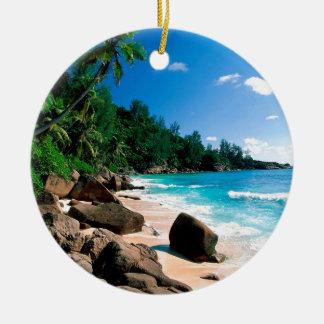 Beach Secret Getaway Christmas Tree Ornament