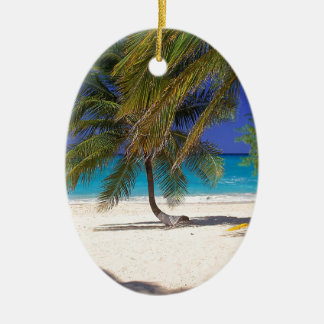 Beach Seven Mile Grand Cayman Christmas Ornament