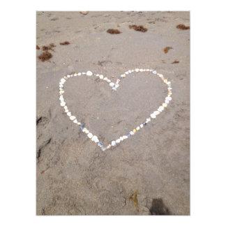 Beach Shell Heart Photo Print