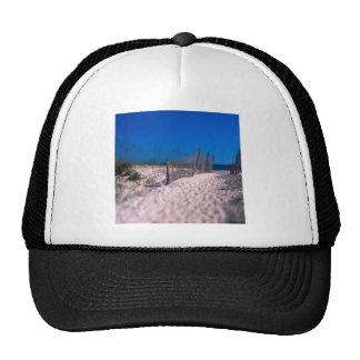 Beach Shell Island Trucker Hats