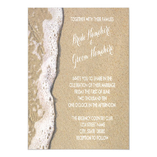 Beach Shore Magnetic Wedding Invitations Magnetic Invitations