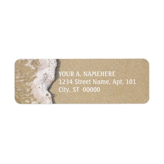 Beach Shore Return Address Labels