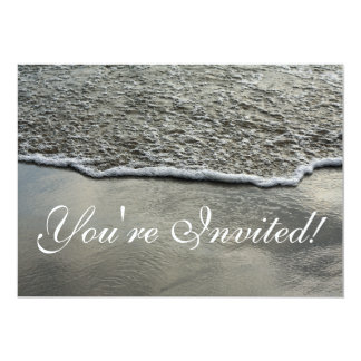 Beach Shoreline Invitation