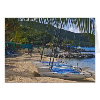 Beach side at Leverick Bay Resort & Marina, Card