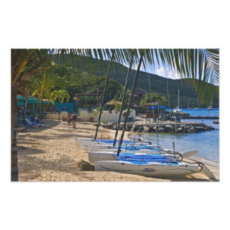Beach side at Leverick Bay Resort & Marina, Photo Print