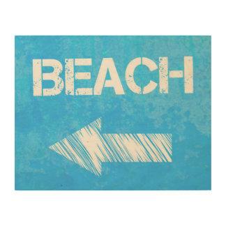 Beach Sign Wall Art
