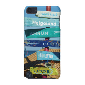 Beach Signs in Hornum Germany iPod Touch 5G Case