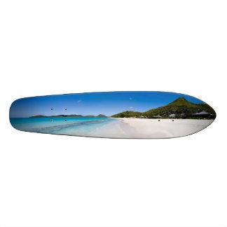 Beach skateboard