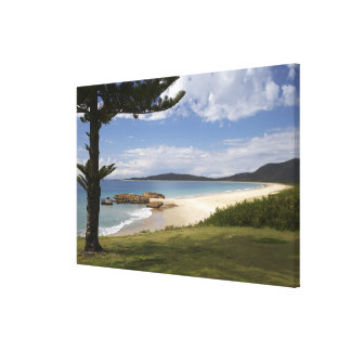 Beach, South West Rocks, New South Wales, Canvas Print