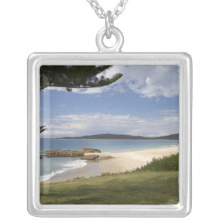 Beach, South West Rocks, New South Wales, Silver Plated Necklace
