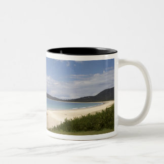 Beach, South West Rocks, New South Wales, Two-Tone Coffee Mug