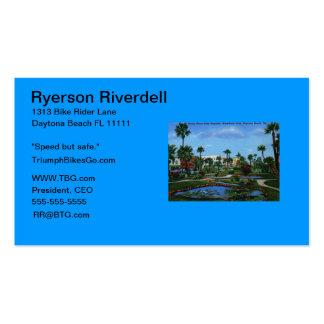 Beach St., Daytona Beach, FL Vintage Business Cards