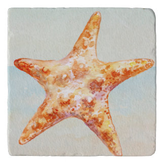 Beach Starfish Nautical Ocean Trivet