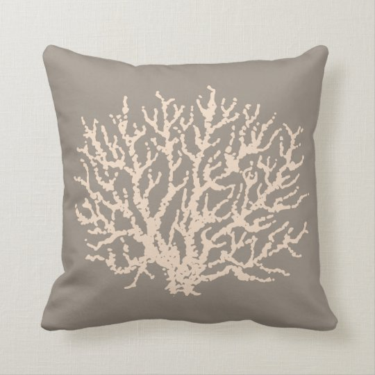Beach Starfish Sea Coral Throw Pillow Decor Gift
