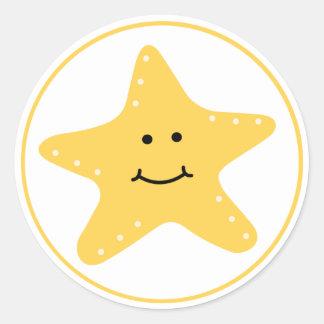 Beach Starfish Sticker