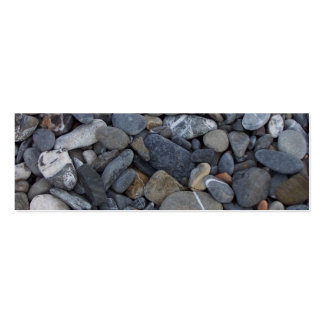 Beach Stones bookmark business card Pack Of Skinny Business Cards