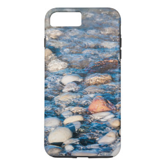 Beach stones on the lake shore iPhone 7 plus case