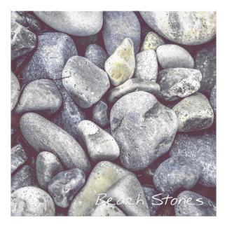 Beach Stones Photo Print