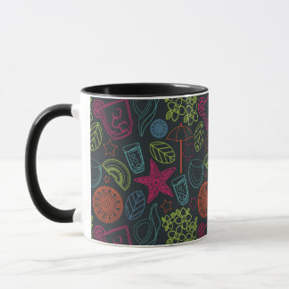 Beach style mug for hot summer days with drinks