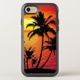Beach Summer Sunset Palm Trees OtterBox Symmetry iPhone 7 Case