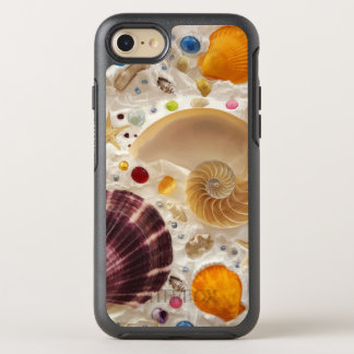 Beach Summer Tropicsl Seashells OtterBox Symmetry iPhone 8/7 Case