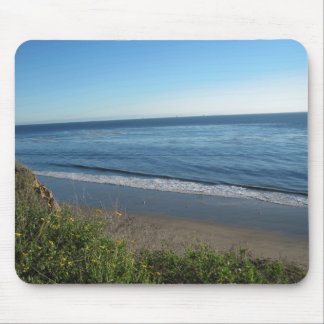 Beach, Summerland, California Mouse Pad