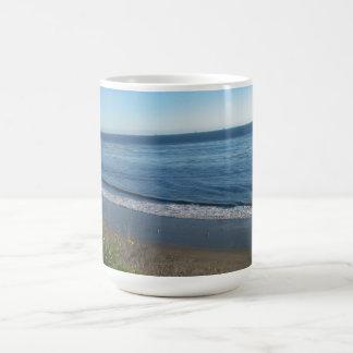 Beach, Summerland, California Mugs