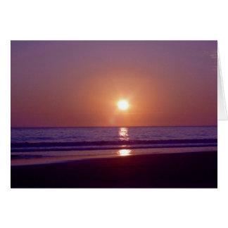 Beach Sun Card