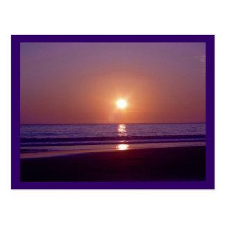 Beach Sun Postcard