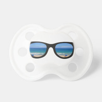 Beach Sunglasses Baby Pacifiers