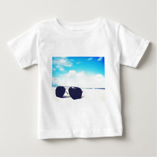 Beach Sunglasses Baby T-Shirt