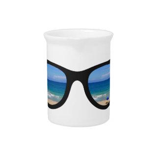 Beach Sunglasses Pitcher