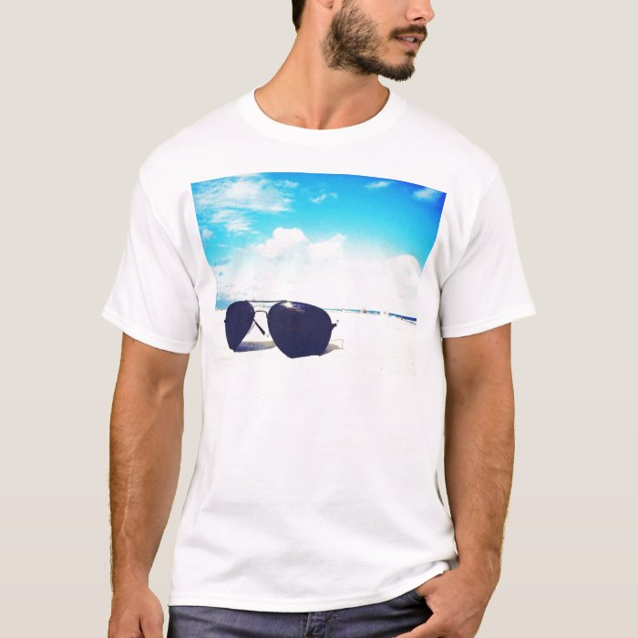 Beach Sunglasses T-Shirt