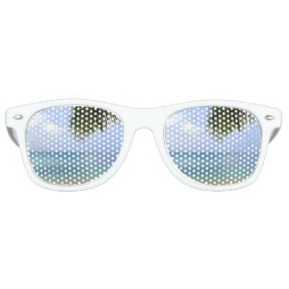 Beach Sunglasses | Watercolor Ombre Retro Shades