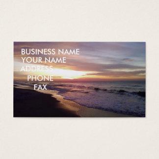 BEACH SUNRISE BUSINESS CARD