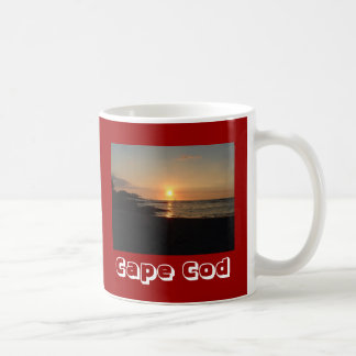 Beach Sunrise Cape Cod Massachusetts Coffee Mug