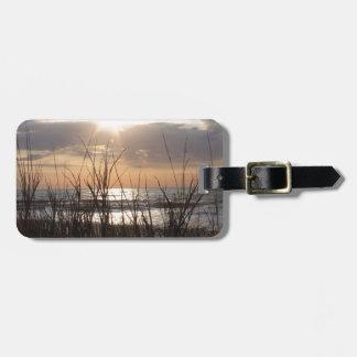 Beach Sunrise Luggage Tag