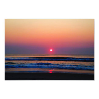 Beach Sunrise Photo Print