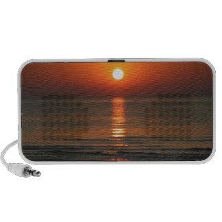 Beach Sunrise Portable Speaker
