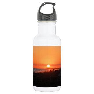 Beach Sunset at Holden Beach NC 532 Ml Water Bottle