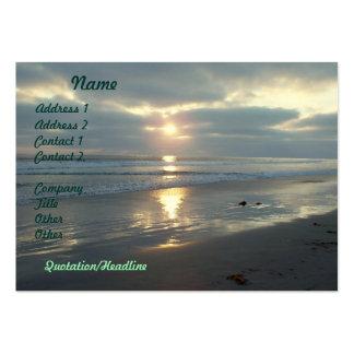 Beach Sunset Business Cards