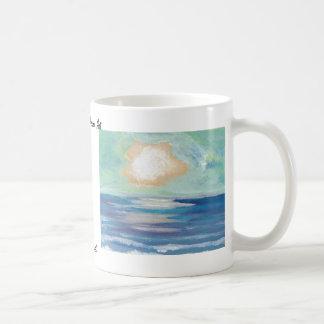 Beach Sunset - CricketDiane Ocean Art Basic White Mug