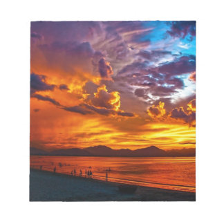 Beach Sunset Notepad