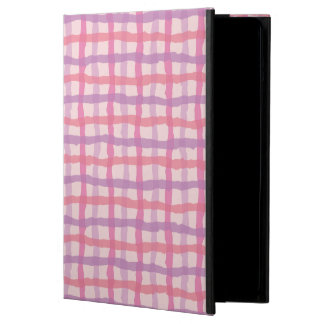 Beach Sunset Pink Gingham Cover For iPad Air