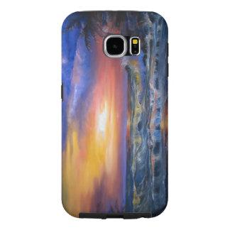 Beach Sunset Samsung Galaxy S6 Cases
