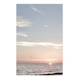 Beach Sunset Stationery