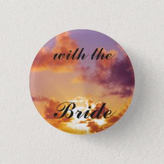 Beach Sunset Wedding Special 3 Cm Round Badge